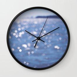 Indigo Sea Wall Clock