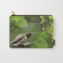 Hummingbird Hiding Carry-All Pouch