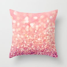 Blush Deeply Throw Pillow