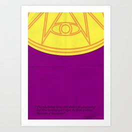 Ozymandias Art Print