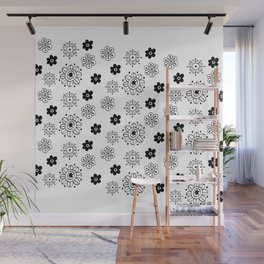 Blossom Doodle Wall Mural