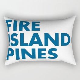 FIRE ISLAND PINES Rectangular Pillow