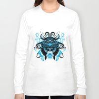 cthulu Long Sleeve T-shirts featuring Lovecraftian Cosmic Horror by BlanzyDesign