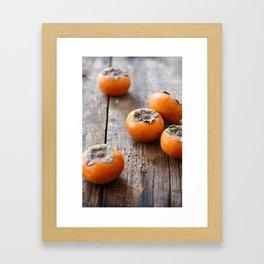 Persimmons Framed Art Print