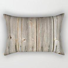 Old Rustic Wood Texture Rectangular Pillow