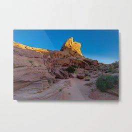 Colorful Sandstone, Valley of Fire - IIIa Metal Print