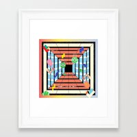 tennis Framed Art Prints featuring Tennis by Kamolsky