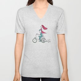 Faster than the wind Unisex V-Neck