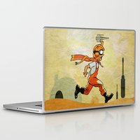 jedi Laptop & iPad Skins featuring Jedi soul by Tony Vazquez
