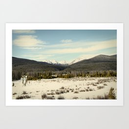 the never summers Art Print