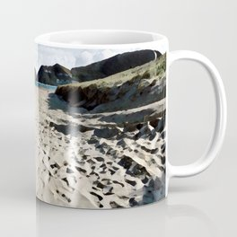 Kite over the beach Coffee Mug