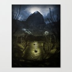 Valley Of Masks Canvas Print