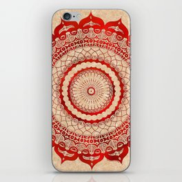 omulyána red gallery mandala iPhone Skin