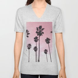 Palms & Sunset Unisex V-Neck