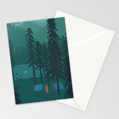 Let's get lost Stationery Cards