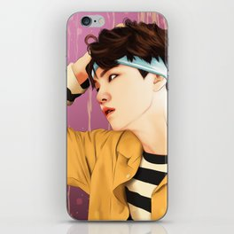 BTS SUGA SUMMER FANART iPhone Skin