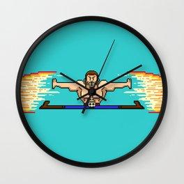 8-Bit Rage Wall Clock