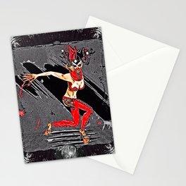 Evil Doll Stationery Cards
