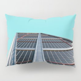 The Gate of Europe tower in Madrid Pillow Sham