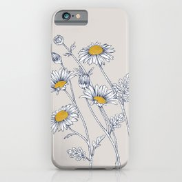 Botanical, Chamomile 1 iPhone Case