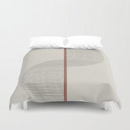 Geometric Composition II Duvet Cover