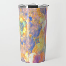 I wait for spring in soil. Travel Mug