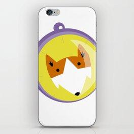 Compass fox iPhone Skin