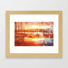 LAKEFORESTLAKE Framed Art Print