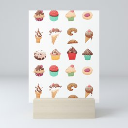 Desserts Mini Art Print