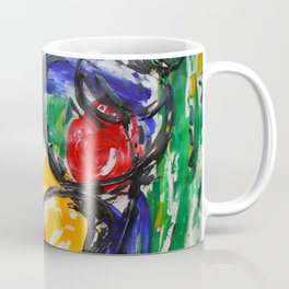 Space Travel Abstract Painting Coffee Mug