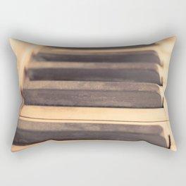 Old piano Rectangular Pillow
