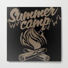 Summer Camp Metal Print