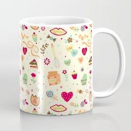 Cake Pattern Coffee Mug