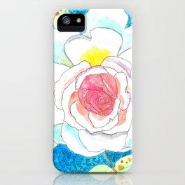 Favorite Rose Watercolor iPhone Case