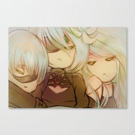 A peaceful sleep Canvas Print