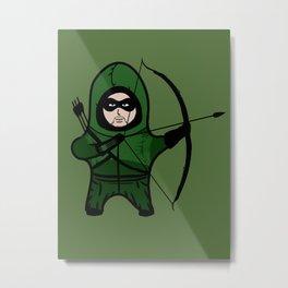 Green Arrow Metal Print