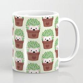 Hedgehogs disguised as cactuses Coffee Mug
