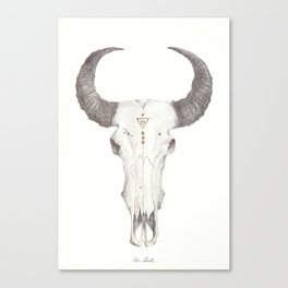 The Saint Goat Canvas Print