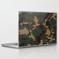 camo Laptop & iPad Skins featuring Camo by TheSmallCollective