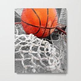 Basketball artwork variant 2 Metal Print
