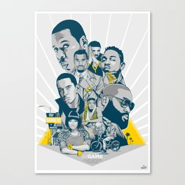 Hit Banger Makers Canvas Print