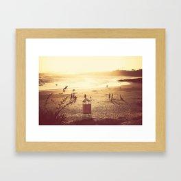 La Barra Sunset Framed Art Print