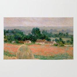 Haystack at Giverny Rug