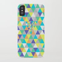 psycho iPhone & iPod Cases featuring Psycho by Javier Martinez