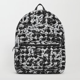 Heap of chess pieces on chessboard Backpack