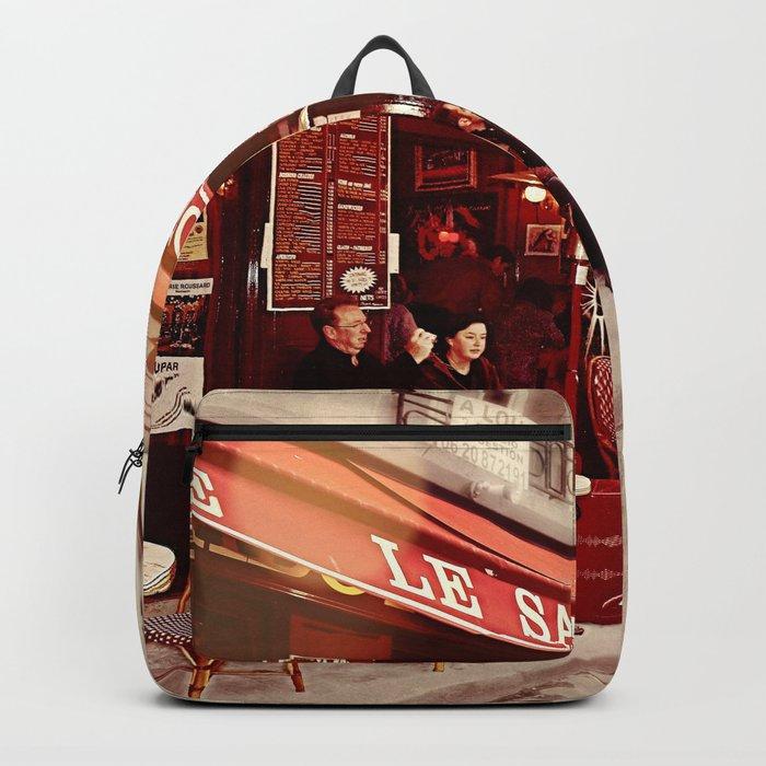 Coffehouse, Sidewalk Cafe Backpack