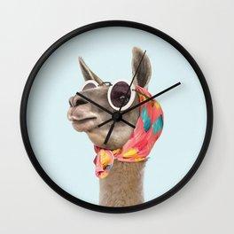 Fashion Llama Wall Clock
