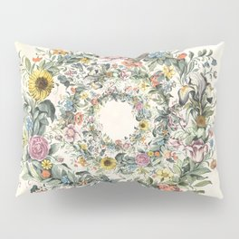 Circle of Life Cream Pillow Sham