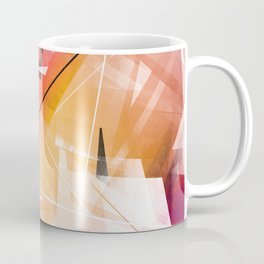 Sunstroke - Geometric Abstract Art Coffee Mug