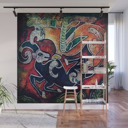 Scythian Designs Ibex & Griffin by Sheridon Rayment Wall Mural